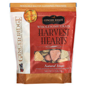 Ginger Ridge Harvest Hearts Horse Treats 1.75lb