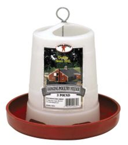 Little Giant Hanging Poultry Feeder 3 Pound