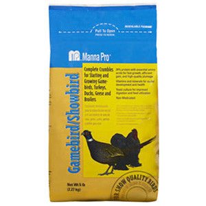 Manna Pro Gamebird/Showbird Feed