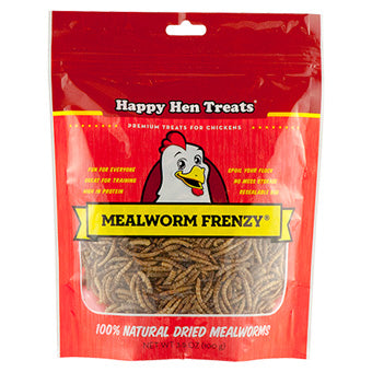 HAPPY HEN MEALWORM FRENZY 3.5 OZ