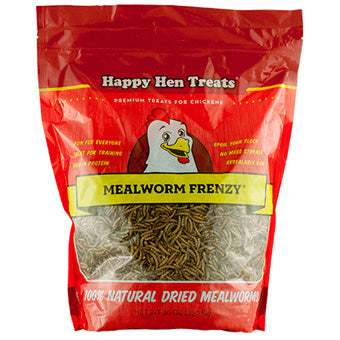HAPPY HEN MEALWORM FRENZY 30 OZ