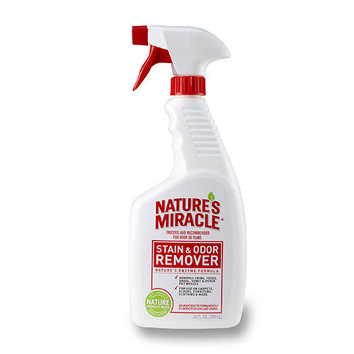 Natures Miracle Stain & Odor Remover 24 oz