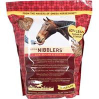 New Omega Nibblers Low Sugar & Starch – Apple Flavored 3.5LB