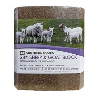 Southern States 24% Sheep & Goat Block 33 1/3 Lb.