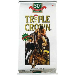 Triple Crown 30% Performance Supplement Pelleted 50#