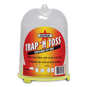 Trap 'N Toss™ Disposable Fly Trap