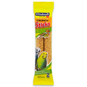 Triple Baked Crunch Sticks™ with  Whole Grains & Honey Parakeet Treat