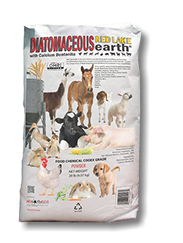 Red Lake Earth Diatomaceous Earth with CALCIUM BENTONITE, 20 Lb.