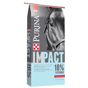 Purina® Impact® 10% Textured Horse Feed