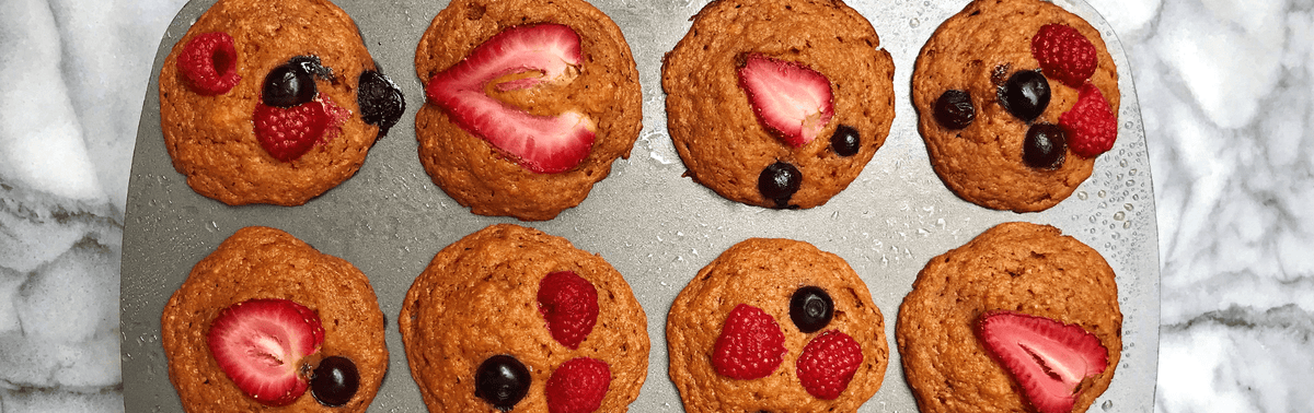 Sweet Potato Berry Muffin
