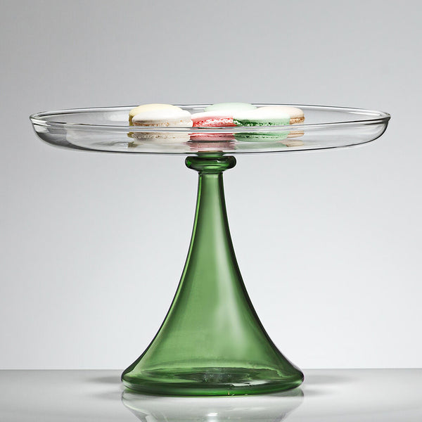 ELEMENTAL Cake Stand Green Large