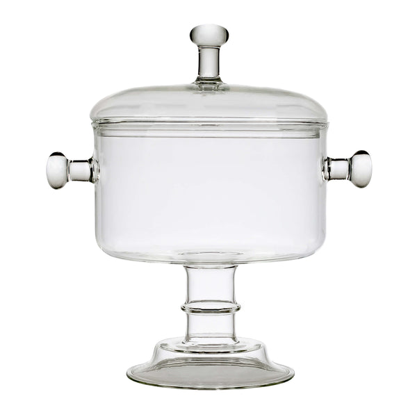 Limburg soup bowl with lid on white background