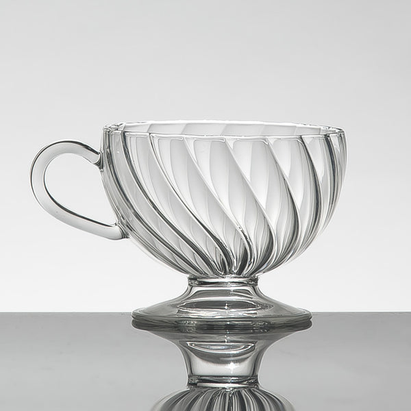 ARABESQUE Teacup Clear (set of 2)