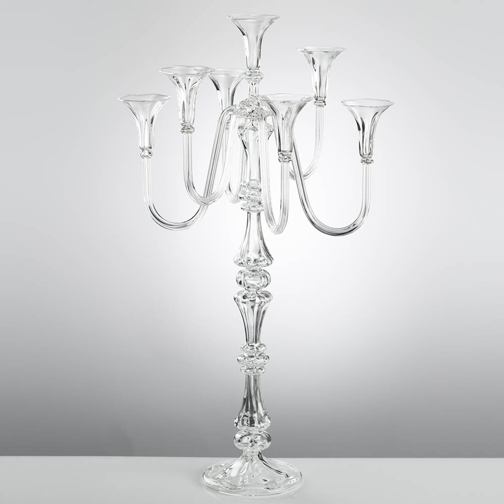 CHRISTOPHER 7 Candles Candelabra