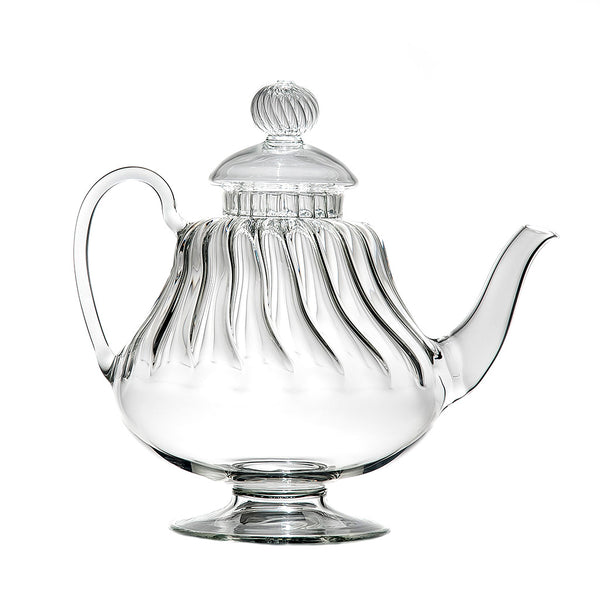 ARABESQUE WIDE Teapot Clear