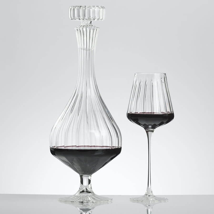 ELYSEE Decanter and ELYSEE Red Wine Glass (set of 4)