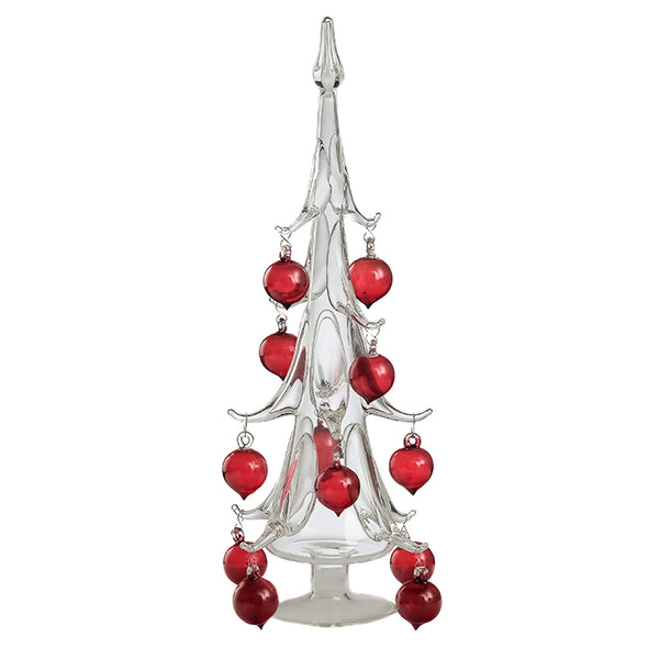 SPARKLE Glass Christmas Tree Small