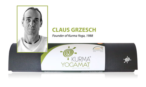 Claus Grzesch Founder of Kurma Yoga 1988 - German Yoga Mats