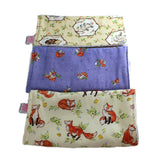 Burp Cloth/Wash Cloth Set - Forest Friends