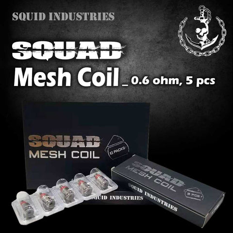 Squid Industries Squad Mesh Coil