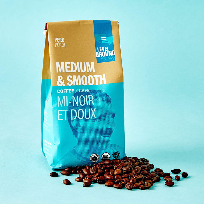 Whole Bean Coffee - Peru Medium Roast