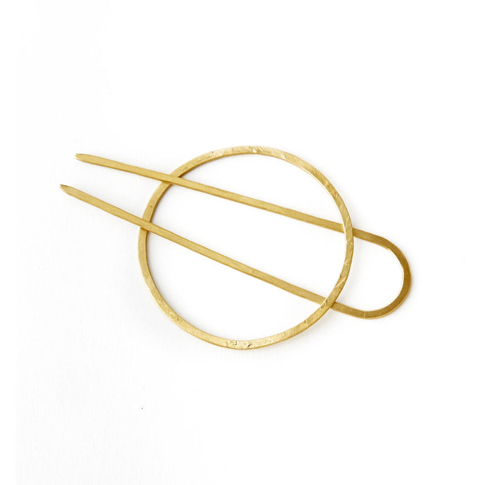 Brass Hair Stick