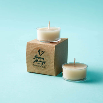 Beeswax Tea Light Candle - Set of 2