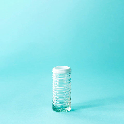 Tall Shot Glass - White Stripe