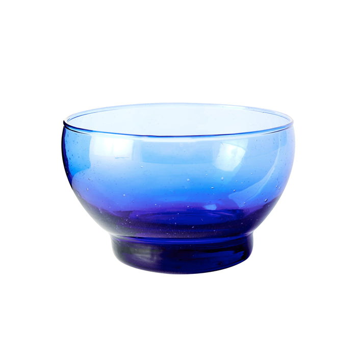 Small Glass Prep Bowl - Blue