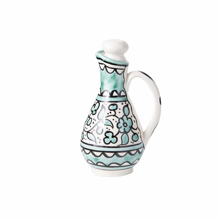 Small Handpainted Syrup Cruet