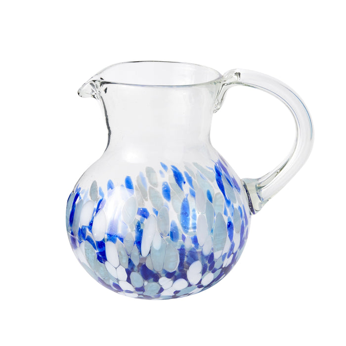 Iced Tea Pitcher - Blue Dot
