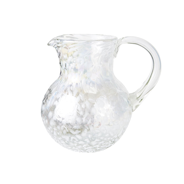 Iced Tea Pitcher - White Lustre