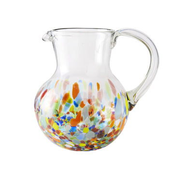 Iced Tea Pitcher - Colorful Dot