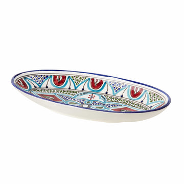 Medium Oval Dish - Malika