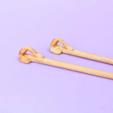 Handcarved Elephant Chopsticks