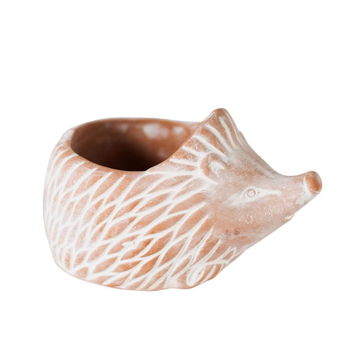 Terracotta Hedgehog Planter - Small