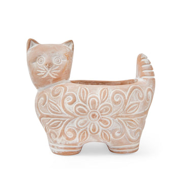 Garden Kitty Planter - Large
