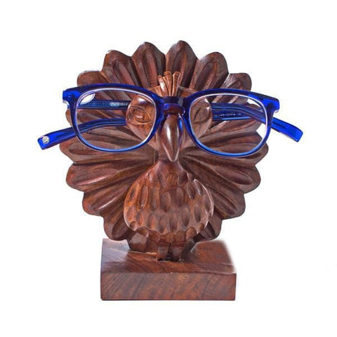 Peacock Eye Glass Holder