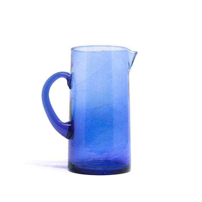 Glass Carafe - Blue