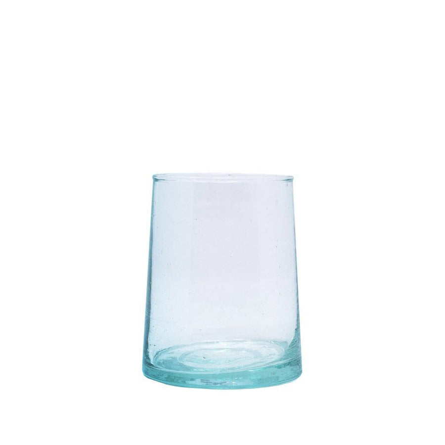 Short Flared Drinking Glass - Clear