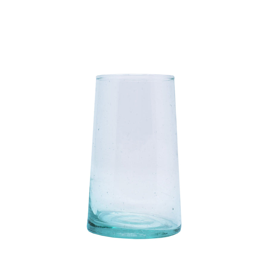 Tall Flared Drinking Glass - Clear