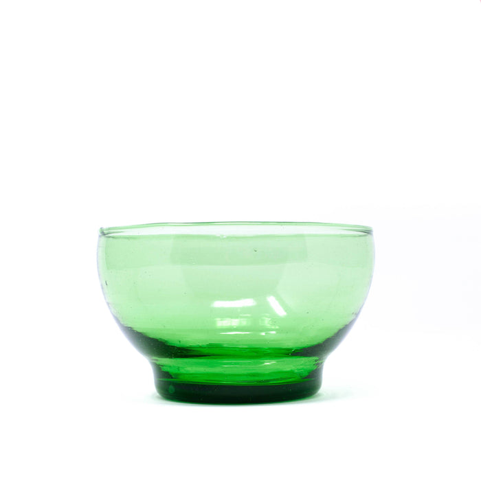 Glass Bowl - Green