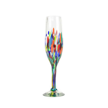 Champagne Glass - Colorful