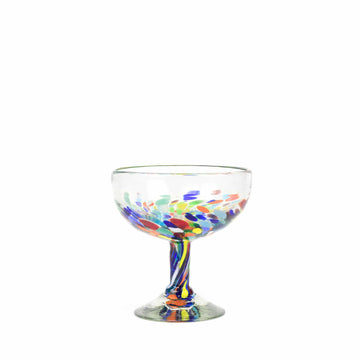 Coupe Cocktail Glass - Colorful