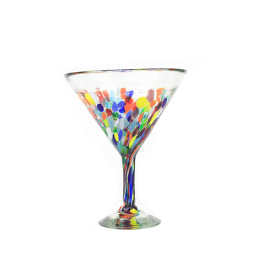 Extra Large Martini Glass - Colorful