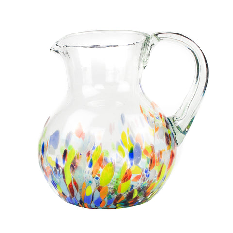 Large Iced Tea Pitcher - Colorful
