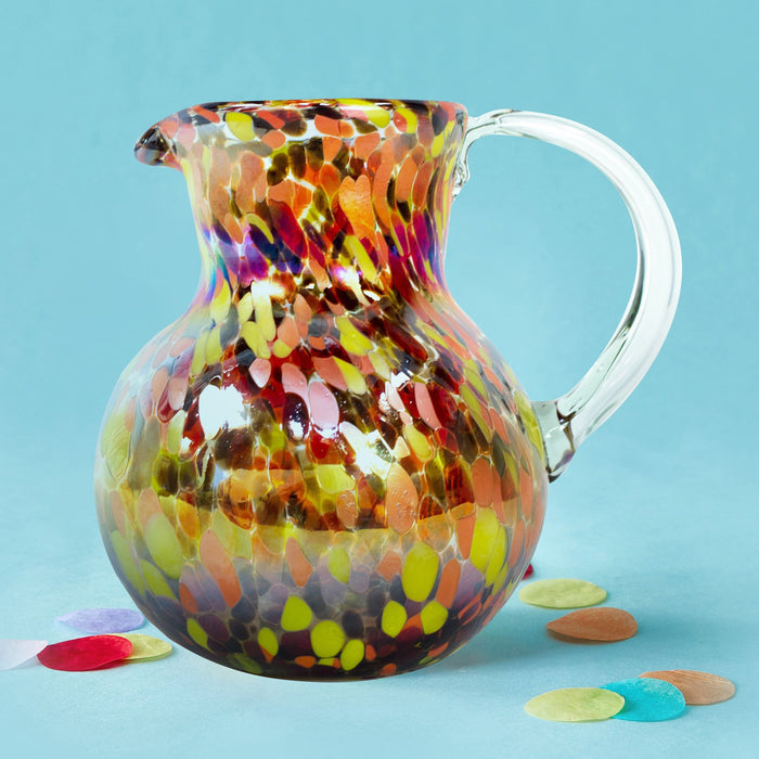 Large Iced Tea Pitcher - Confetti