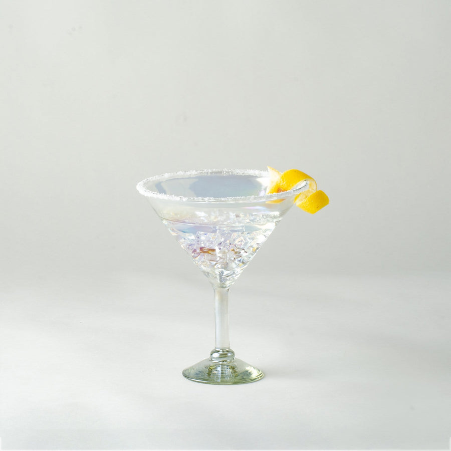 Extra Large Martini Glass - Iridescent