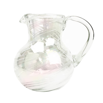 Iced Tea Pitcher - Iridescent Swirl