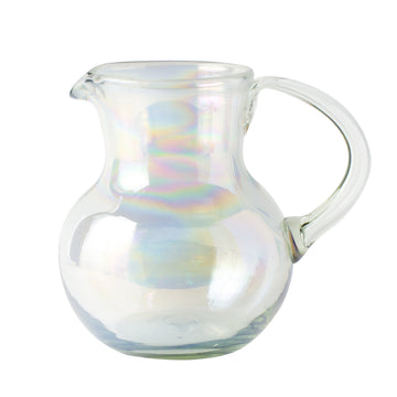 Large Iced Tea Pitcher - Iridescent